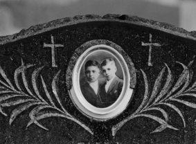 tombstone art